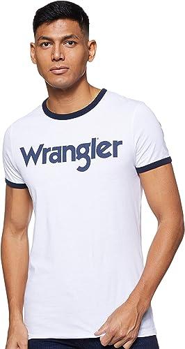 TALLA S. Wrangler Kabel tee Camiseta para Hombre