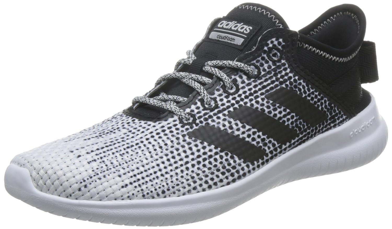 Adidas CF Qtflex W, Zapatillas de Deporte para Mujer 41 1/3 EU|Blanco (Ftwbla / Negbas / Plamat)