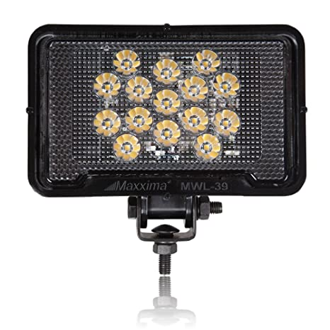 Amazon Com Maxxima Mwl 39 Black Rectangular 15 Led Work