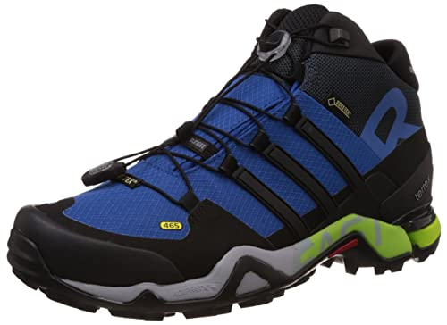 e0357020006 Adidas Men s Terrex Fast R Mid GTX Blue and Black Multisport Training Shoes  - 11 UK