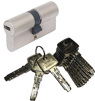 ABUS EC550 Doppelzylinder Schließzylinder 50//65mm mit 3 bis 10 Schlüssel