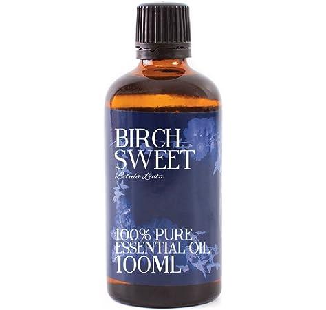 Abedul Dulce Aceite Esencial - 100ml - 100% Puro: Amazon.es: Hogar