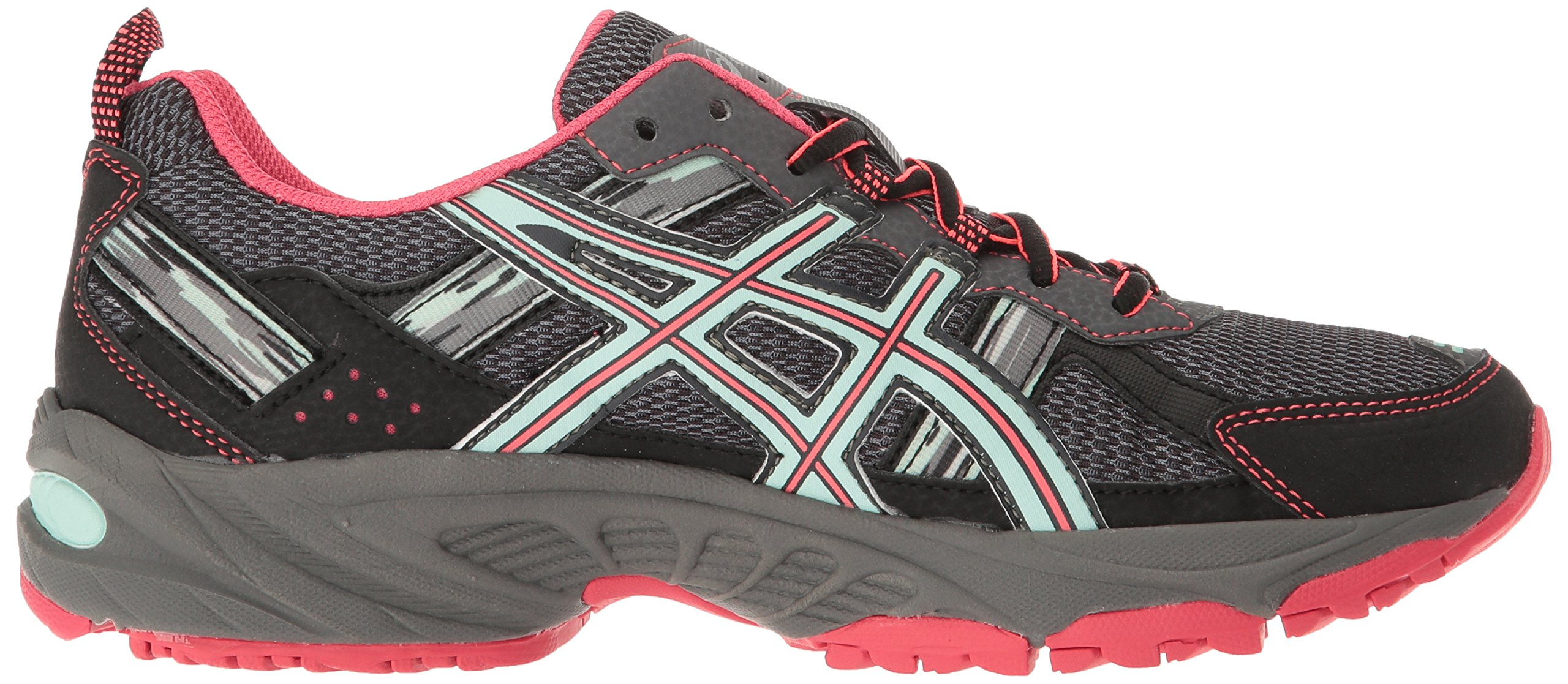 ASICS Women's Gel-Venture 5 Trail Runner, Carbon/Diva Pink/Bay, 9 M US by ASICS (Image #7)