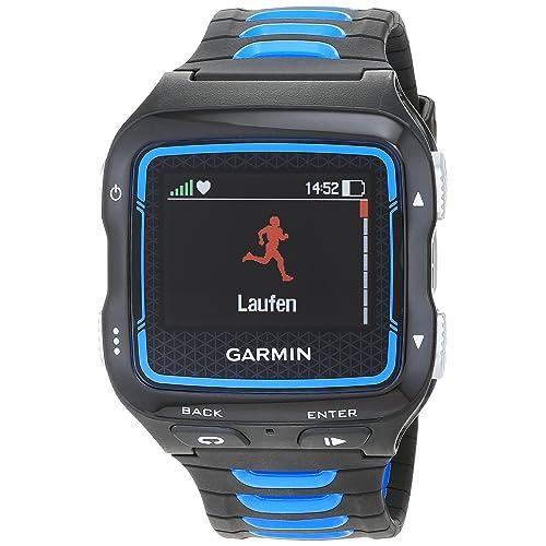 Garmin Forerunner 920XT - Montre GPS Multisports avec Ceinture HRM - Noir et Bleu
