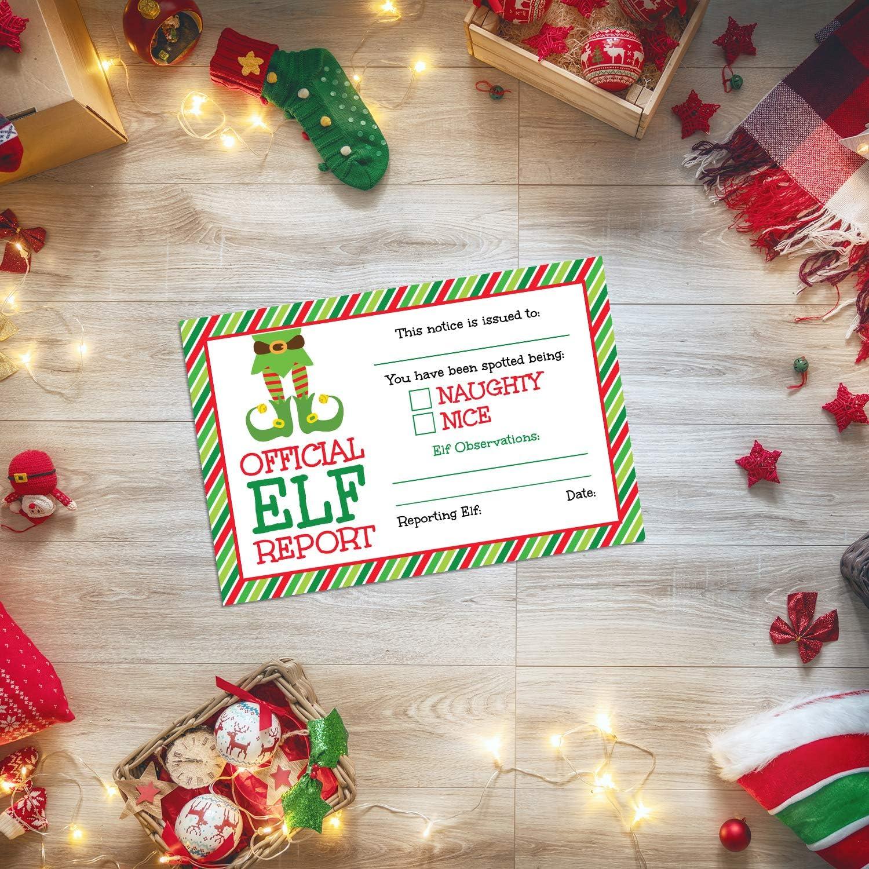Theme Machine Christmas Elf Accessories 25 Elf Reports