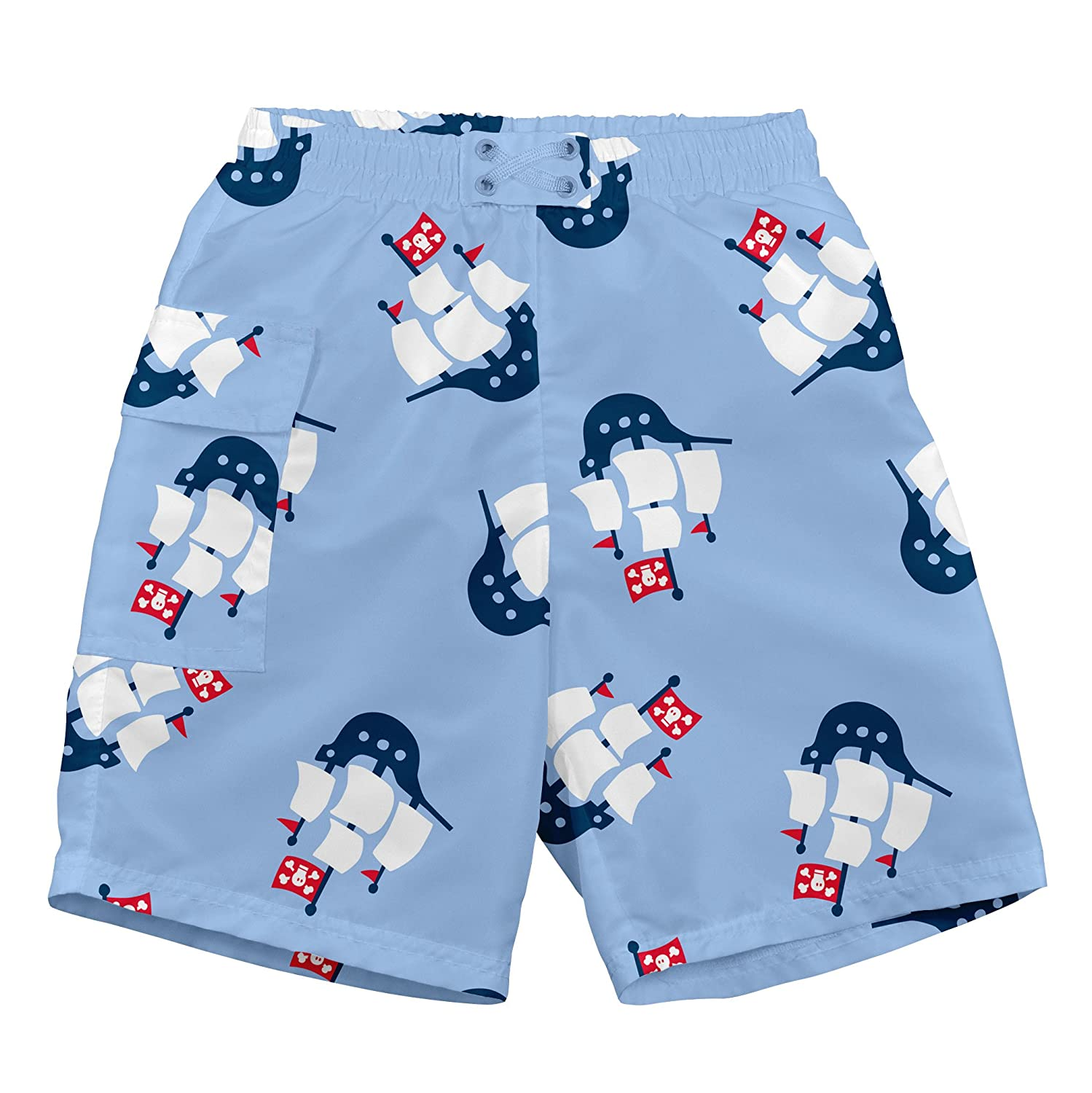 i play. Baby Boys Pocket Trunks W/Built-in Reusable Absorbent Swim Diaper i play Children' s Apparel