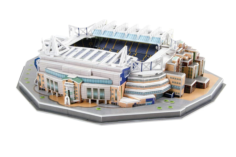 Premier League Chelsea London FC 3D BRXLZ Puzzle Set Stamford Bridge Stadium