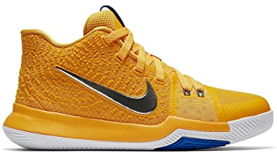 reputable site 8ee40 80d2f Amazon.com   Nike Kid s Kyrie 3 GS (5 Y US, University Gold Chrome White Game  Royal)   Basketball