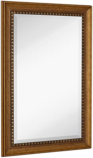 Amazon.Com: New Large Transitional Rectangle Wall Mirror | Luxury