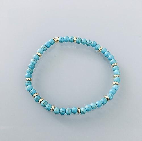 bracelet femme turquoise