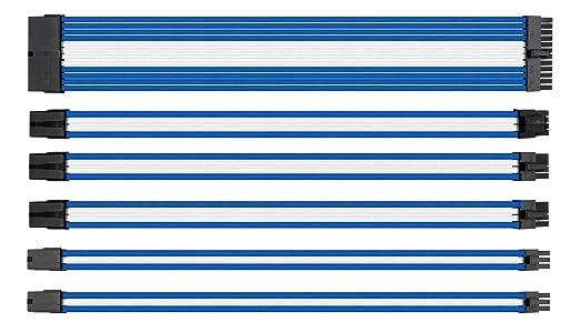 10 opinioni per uphere ttmod Sleeved Cable- Cavo prolunga per alimentatori con extra Sleeves-
