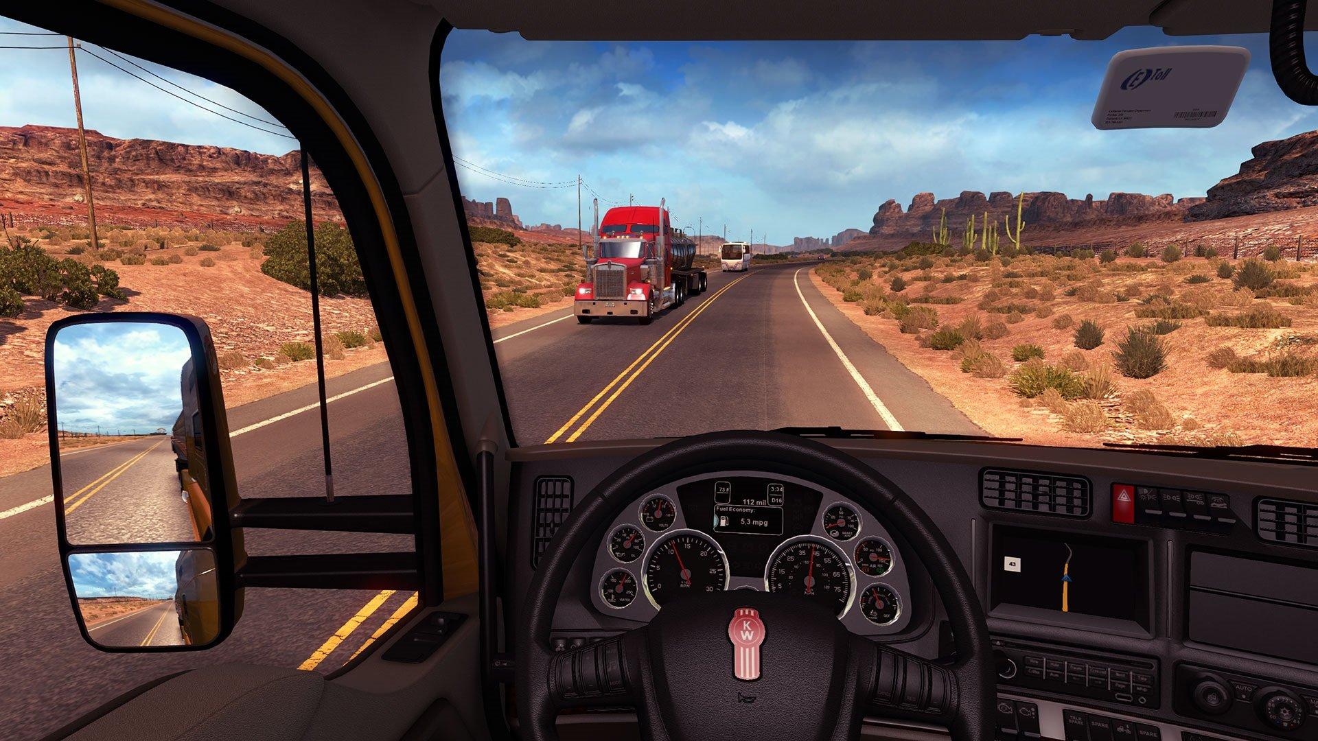 Amazon com: American Truck Simulator - PC: Video Games