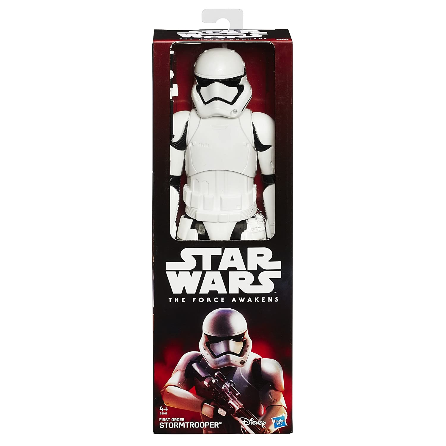 Star Wars The Force Awakens 12-Inch Figure First Order Stormtrooper Review 1fddeb888