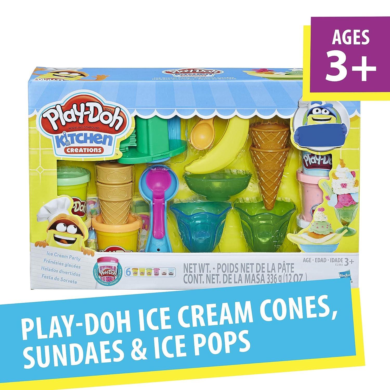 Exclusive Hasbro N//A Play-Doh Ice Cream Party Dough Art