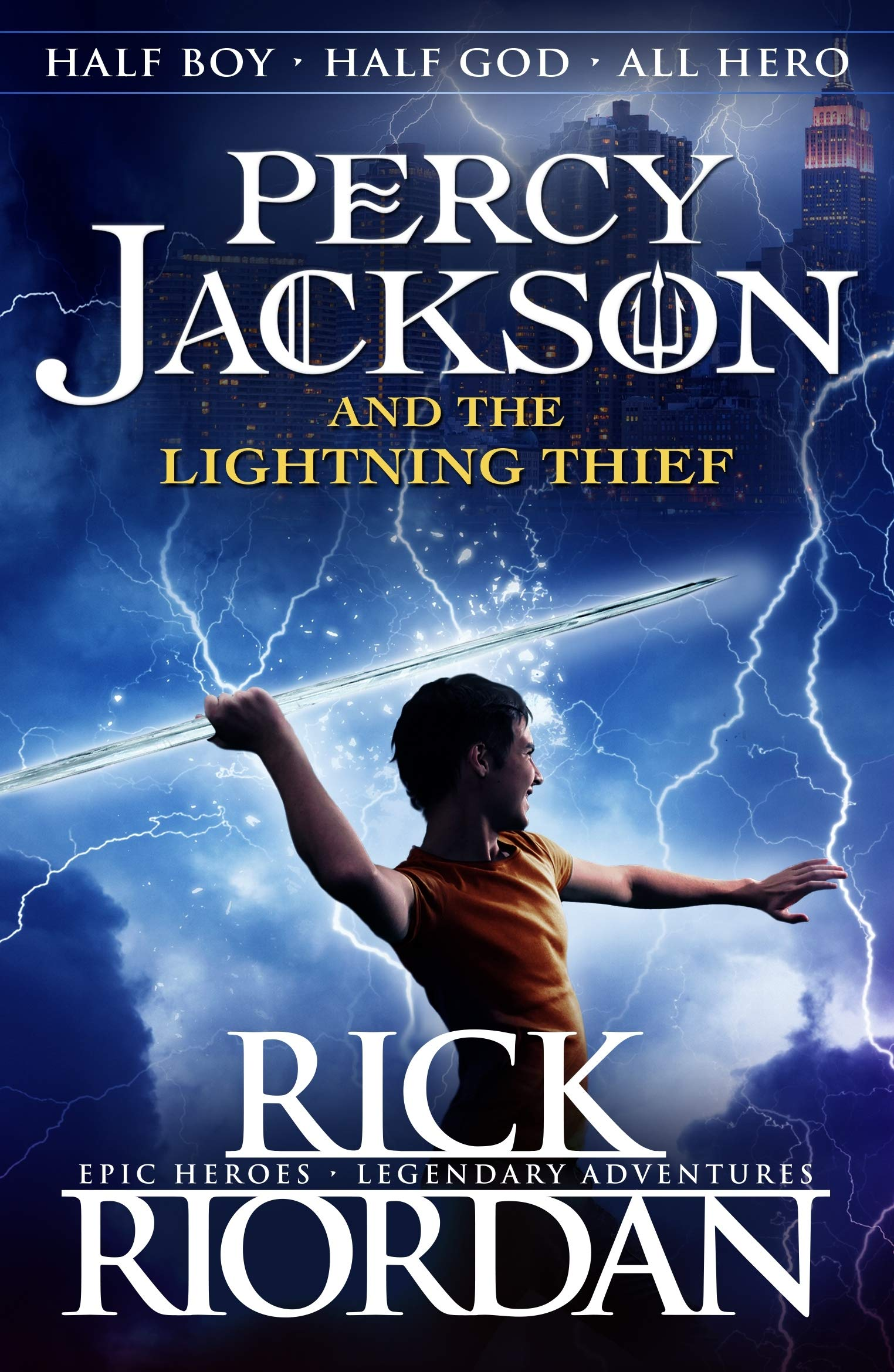 Image result for lightning thief cover