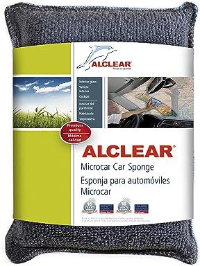 ALCLEAR 950014 Anti-fog microfiber windscreen sponge, blue-anthracite, size: approx