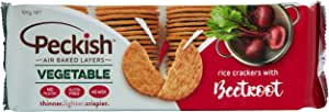 Peckish Vegetable and Rice Cracker with Beetroot, 100 g