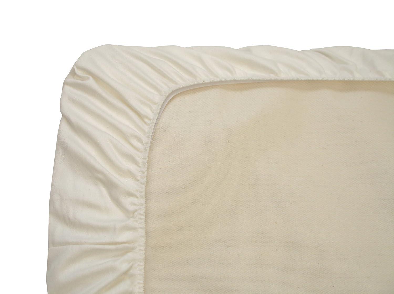 Waterproof Flat PC62W Naturepedic Organic Crib Protector Pad