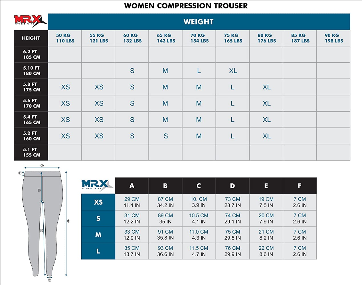 Amazon.com: MRX Womens Yoga Pants Workout Running Legging ...