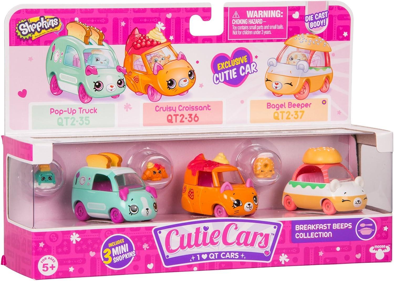 Shopkins Cutie Cars Three Pack - Breakfast Beeps Collection: Amazon.es: Juguetes y juegos