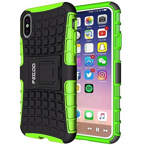 custodia iphone x apple verde