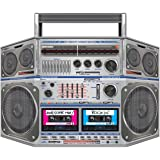 80 Inflatable Ghetto Blaster 90s Party Decoration 44cm x 38cm