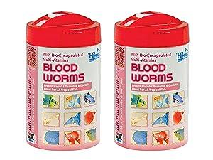 Hikari Bio-Pure Freeze Dried Blood Worms for Pets, 0.42-Ounce