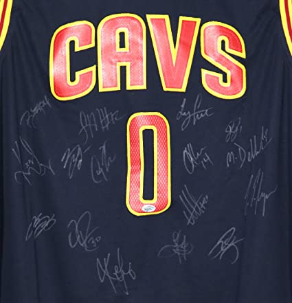 Image Unavailable. Image not available for. Color  Cleveland Cavaliers Cavs  2015-16 Team Autographed Signed Blue Jersey Lebron Kyrie Love ec080d237