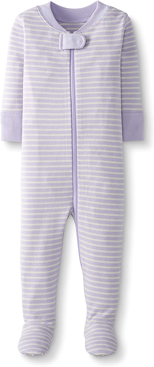Moon and Back by Hanna Andersson One Piece Footed Pajama beb/és Unisex