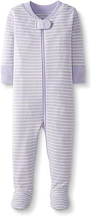 Moon and Back de Hanna Andersson - Pijama de una pieza con pies hecho de algodón orgánico para bebé: Amazon.es: Ropa y accesorios