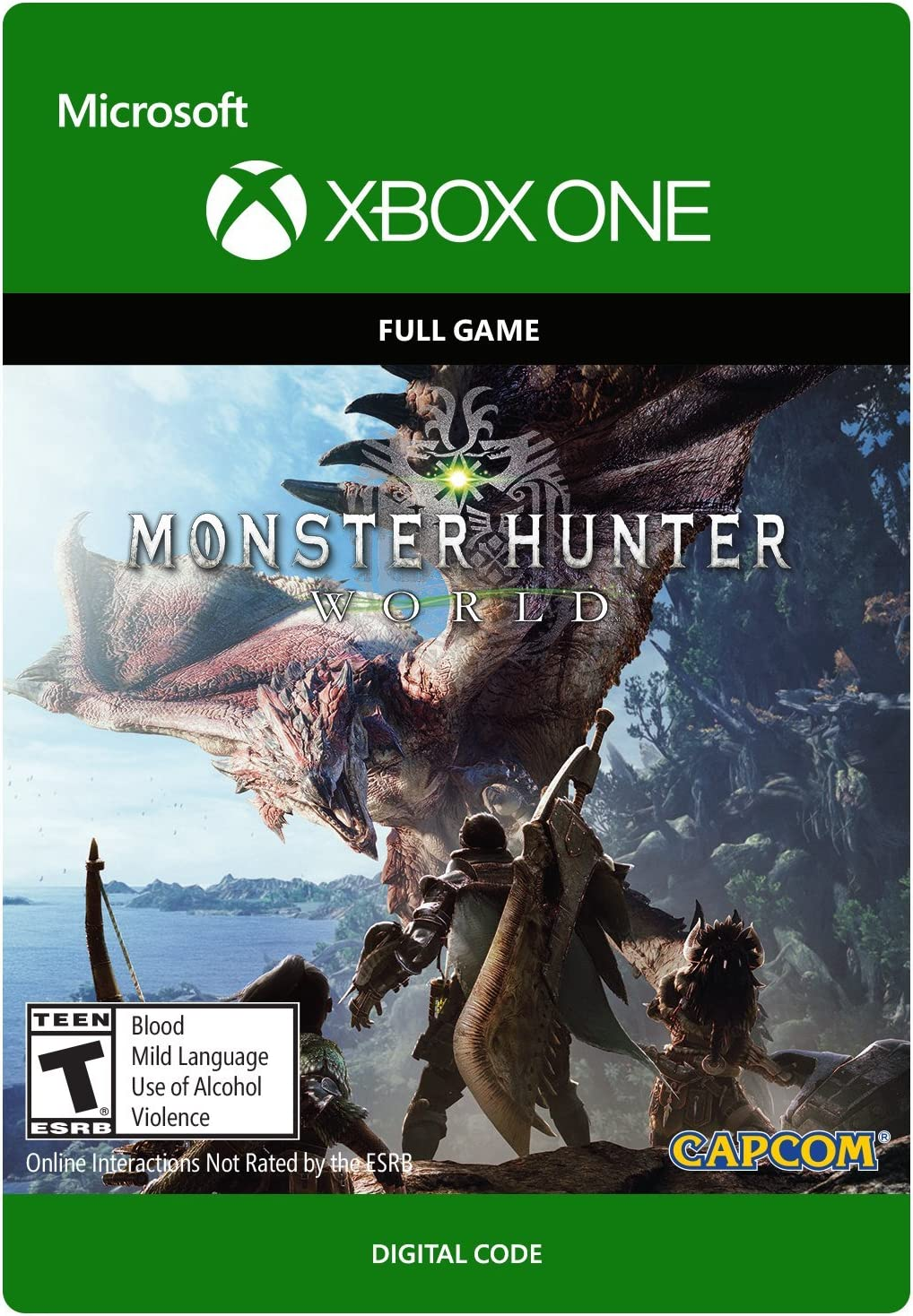 Amazon com: Monster Hunter: World - Xbox One [Digital Code