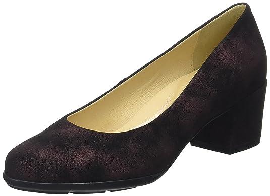 Geox D Annya Mid B, Zapatos de Tacón para Mujer, Gris (Anthracite), 39 EU