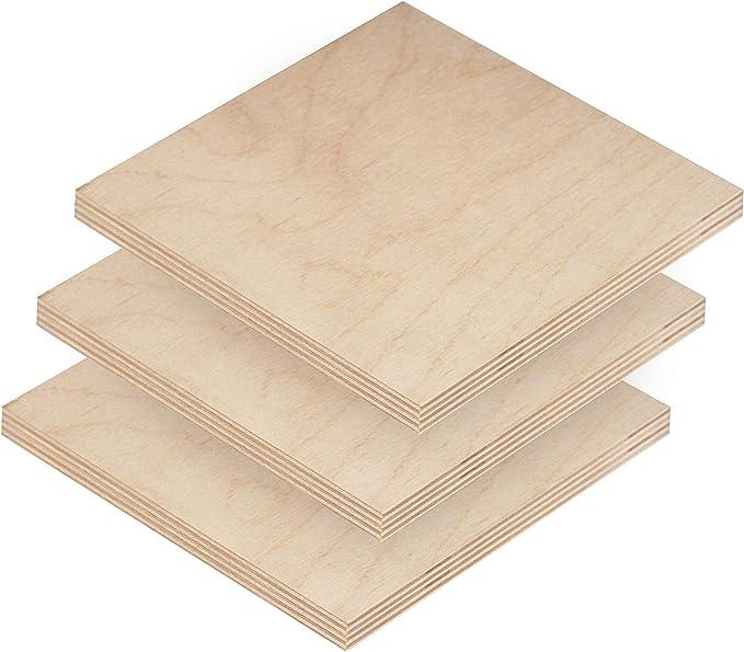 3MM 12 x 20 Baltic Birch Plywood BBB Grade Glowforge Laser 22 Sheets AIF 18