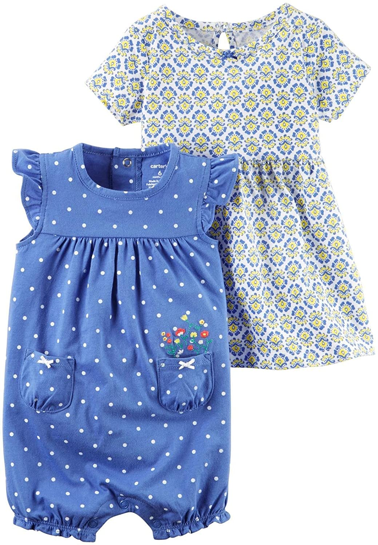 Carters Baby Girls 2 Pk 121h240