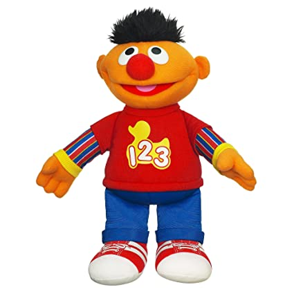 Playskool Sesame Street Rockin Numbers Ernie