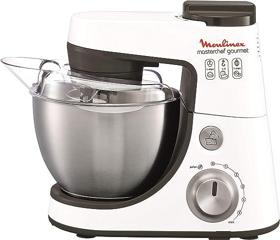 Moulinex QA4131B1 Robot de cocina Masterchef Gourmet, 900 W, 4 L, 6 velocidades (Reacondicionado Certificado): Amazon.es: Hogar