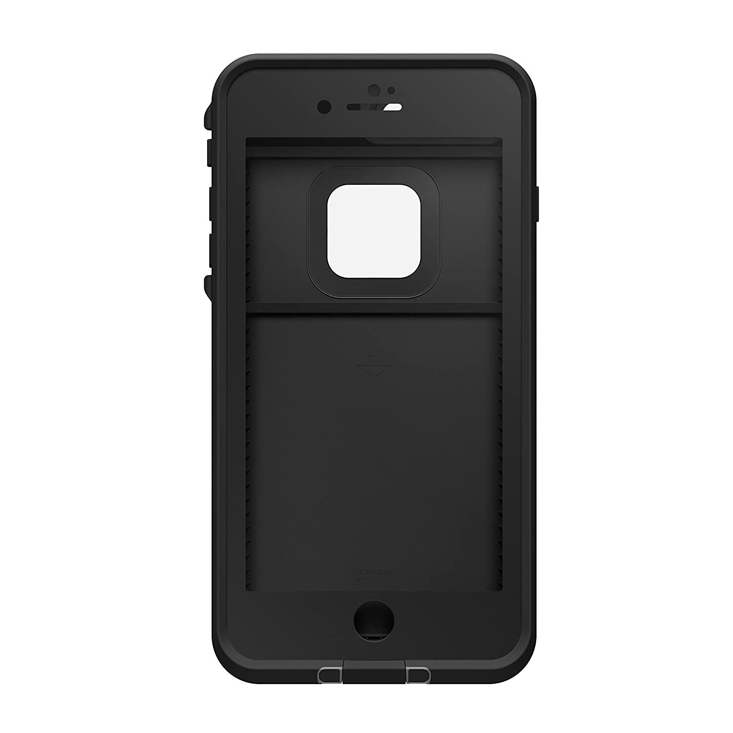 Lifeproof FRĒ SERIES Waterproof Case for iPhone 7 Plus (ONLY) - Retail Packaging - ASPHALT (BLACK/DARK GREY)