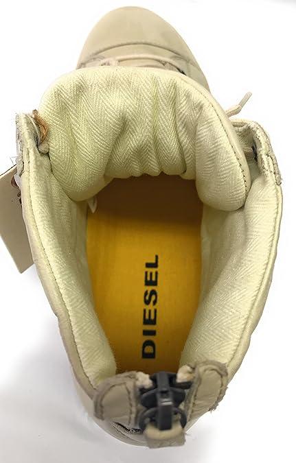 be89ba1e0563 Diamond Herren High Sneaker Aus Hochwertigem Leder, Gr. 43, Beige  Amazon.de   Schuhe   Handtaschen