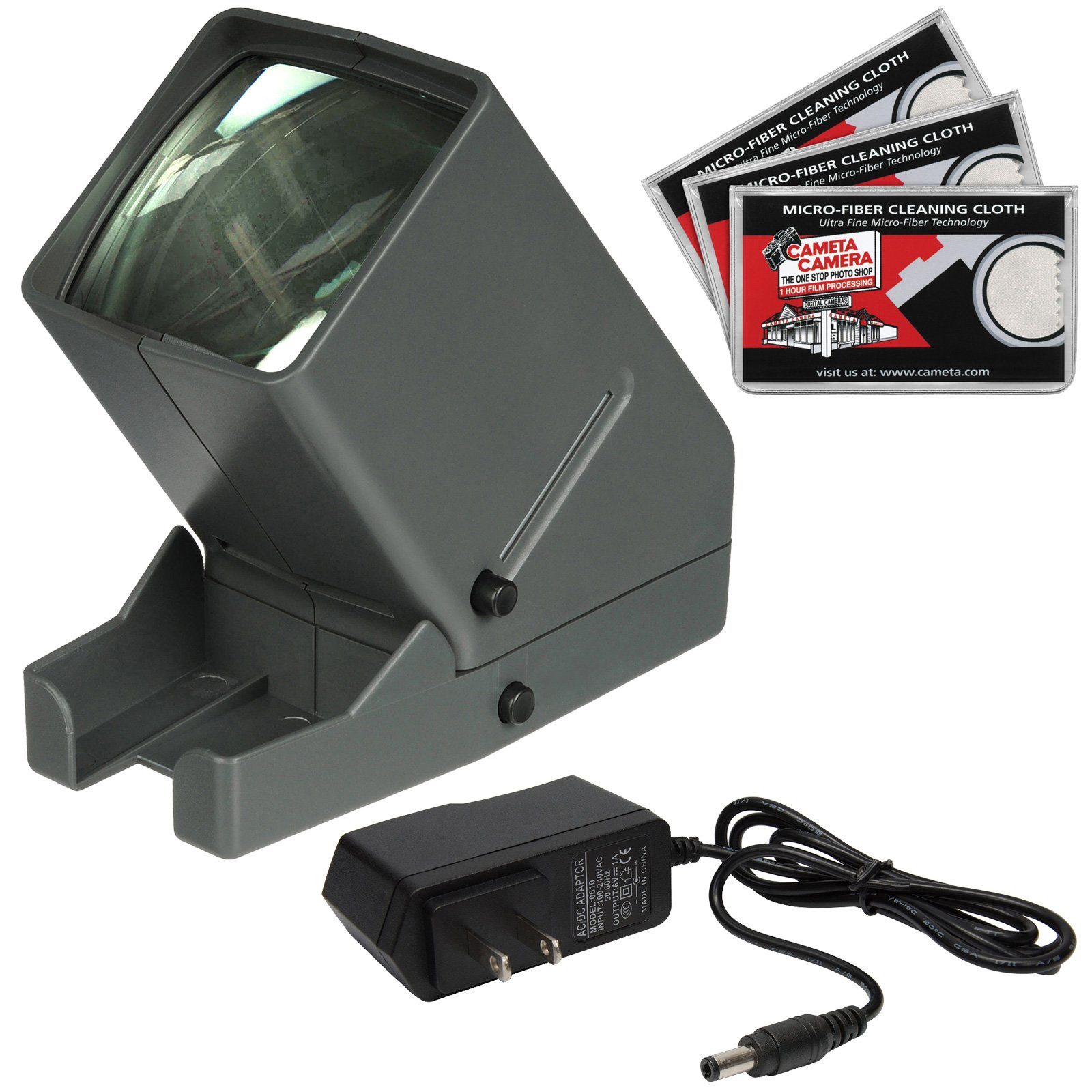 Zuma SV-3 LED 35mm Film Slide and Negative Viewer with AC Adapter + Cleaning Cloths by Zuma