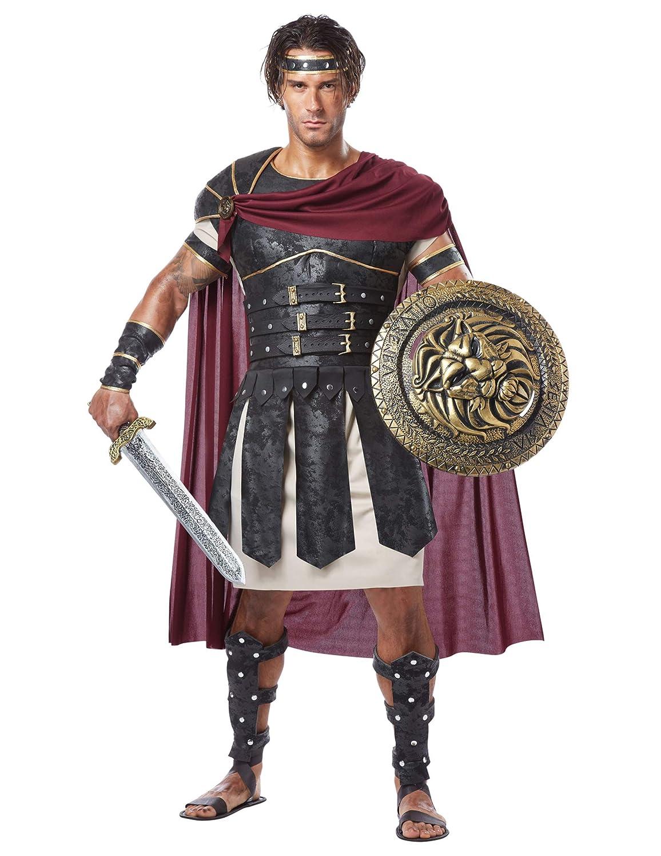 KULTFAKTOR GmbH Römischer Gladiator Antike Kostüm braun-beige L