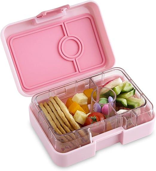 Caja estanca Yumbox Minisnack para snacks y merienda de Yumbox, color rosa CoCo: Amazon.es: Hogar