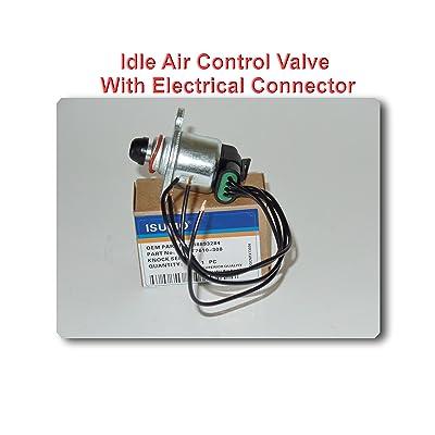 88893284 Idle Air Control Valve With Electricl Connector S551 Fits:Cadillac DeVille (2000-2005) Eldorado (2000-2002) Seville (2000-2004) Oldsmobile Aurora (2001-2003) Pontiac Bonneville 2004-2005): Automotive