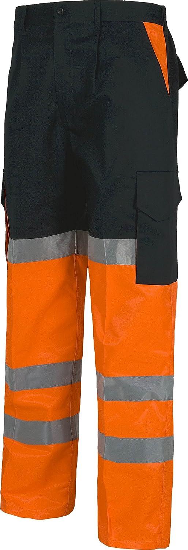 Ropa Y Uniformes De Trabajo Hombre Work Team Pantalon Combinado Alta Visibilidad Con Cintas Reflectantes En471 Ropa Doorgo Id