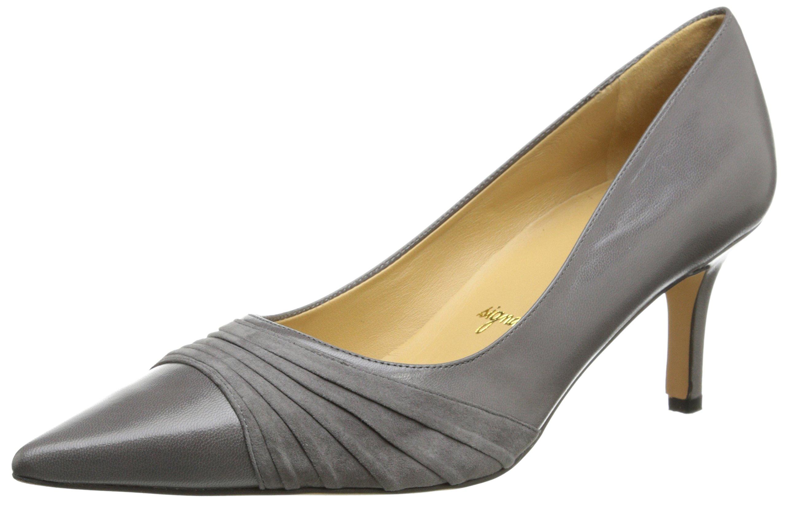 Trotters Women's Alexandra Dress Pump,Dark Grey,7.5 W US