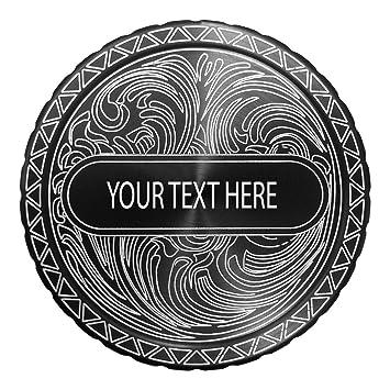 Amazon com: DipLidz Engraved snuff lid Name Plate Scroll