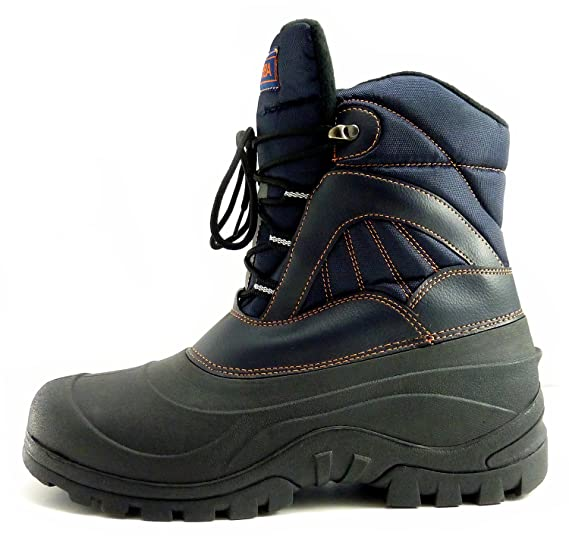KLOBBA OUTDOOR BLUE FIELD BOOTS  DURABLE WATERPROOF INSULATED 10  Amazoncouk Sports  Outdoors