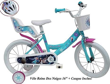 Disney - Bicicleta Infantil de 16 Pulgadas, 2 Frenos con Puerta ...