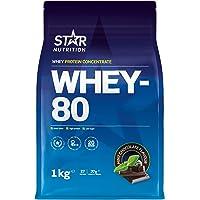 Star Nutrition® | Whey 80 | Rent vassleproteinkocentrat med en hög proteinhalt och ett lågt sockerinnehåll…