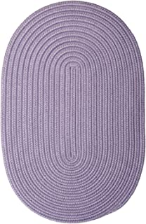 product image for Colonial Mills Boca Raton Amethyst Oval Rug 2'x12'