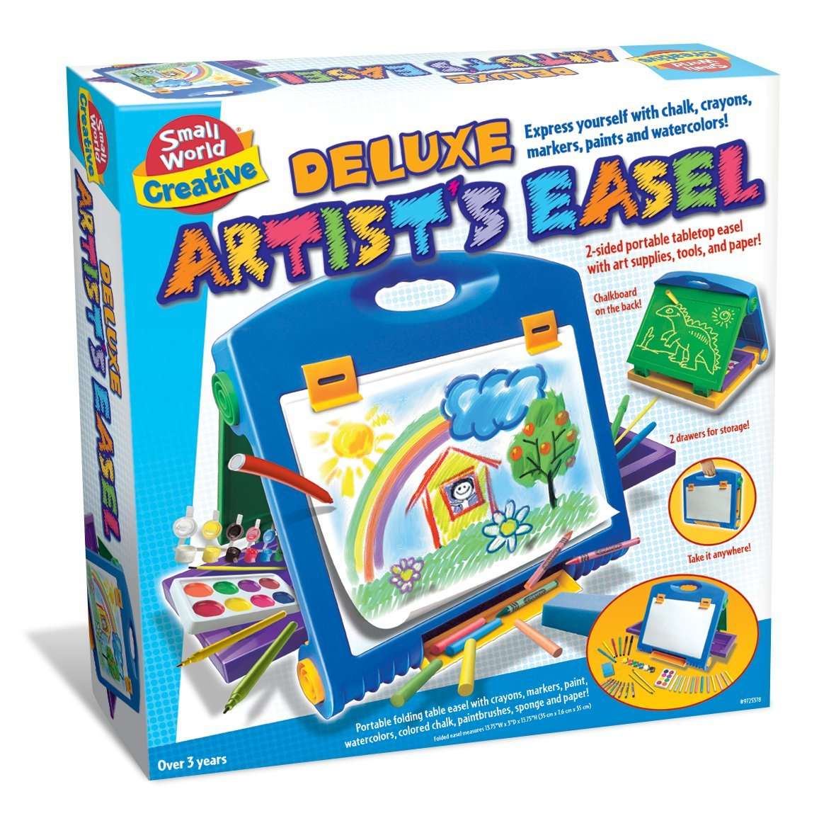 Small World Toys Creative - Deluxe Artist Easel